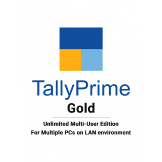 Tally Prime Gold GST Ready Multi User Call for Best Price Accounting Software