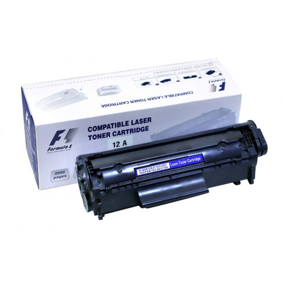 F1 12A Black Compatible Laser Printers Toner Cartridge