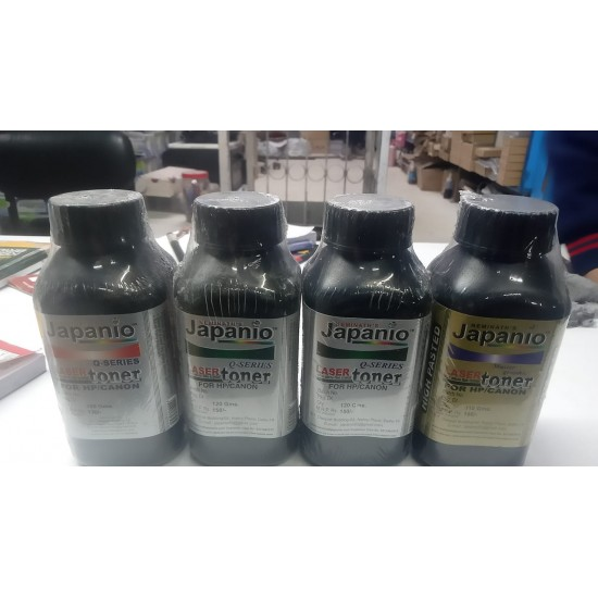 Japanio Ink 120 Grm for HP Laser Printers Laser Toner Powder