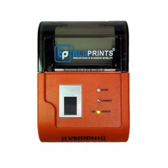 BluPrints Vriddhi Biometric Fingerprint 2 inch Integrated Aadhar Enabled Thermal Printer