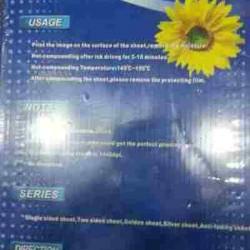Aggarwal Inkjet PVC Plastic HD Digital School ID Card Gumming Pasting Card