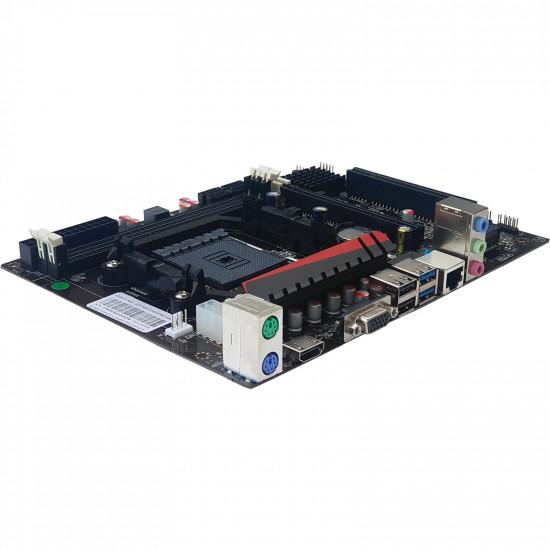 AMD A88 FM2/FM2+ Socket (Supports all a4, a6, a8, a10 series cpu and all fm2 and fm2+ cpu) mATX FM2+ Motherboard