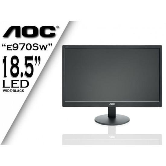 AOC E970Sw  18.5 inch (47cm)  HD Backlit LED Monitor