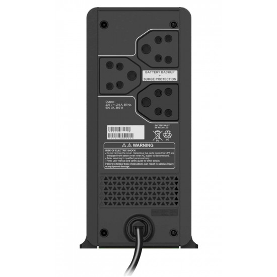 APC BX600C-IN 600VA Power Backup & Protection Home Office Desktop Computer UPS
