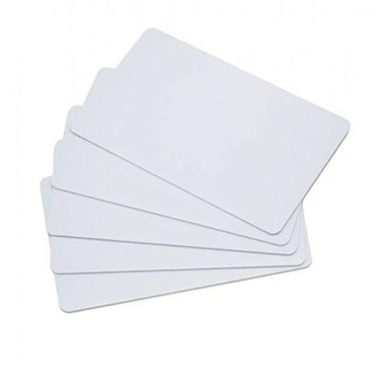 Blank PVC Plain Cards For Inkjet Printers(Aadhar Card, College ID, Gate Pass, etc) 230 PCs Pack HD Premium Quality ID White Cards