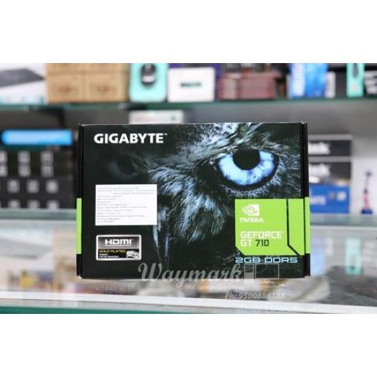 Gigabyte GT710 2GB DDR5 2GB DDR5 Nvidia GeForce Graphics Card