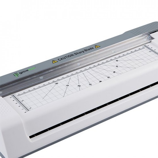 Growlam GL-P490 Multi Laminator 3 in 1 With Paper Cutter For Laminating Documents Lamination Machine