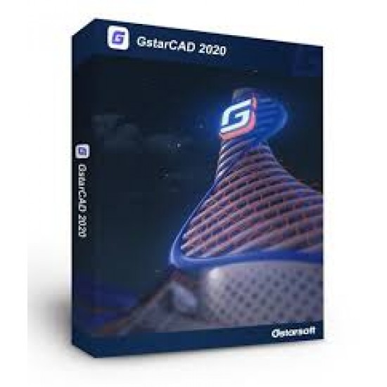 GstarCAD 2021 2D Standard ESD License Software