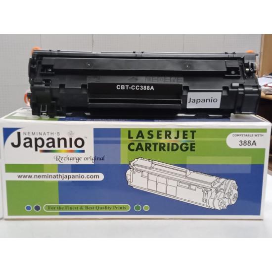 HP 88A COMPATIBLE Japanio CC388A LASER PRINTERS BLACK COMPATIBLE TONER CARTRIDGE