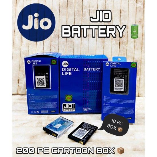 Jio Phone Compatible for All Keypad Lyf Model Mobile Battery