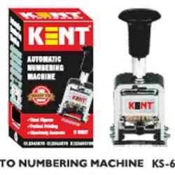 Kent Automatic KS-0060 6 Digit Stamp Auto Numbering Machine