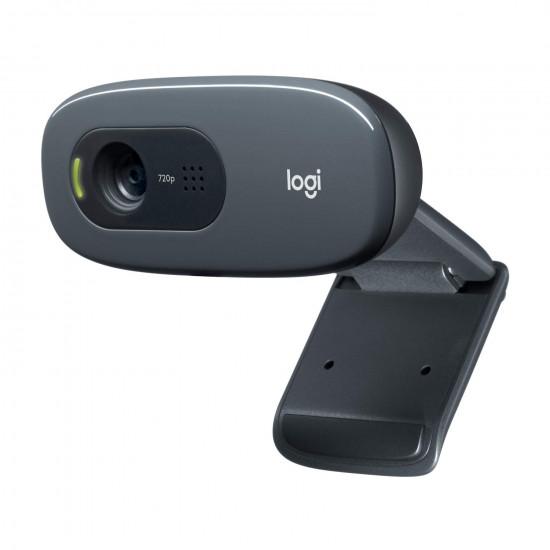 Logitech C270 HD with Mic USB Webcam