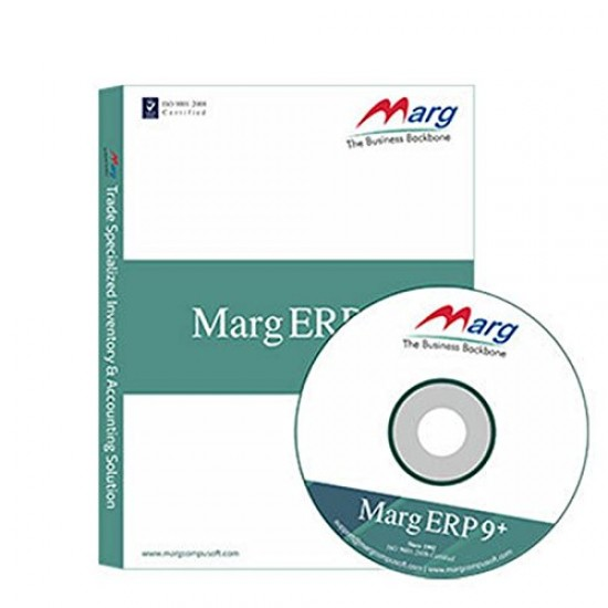 MargERP 9+ FMCG GST Ready Retail, Distribution, Manufacturing Advanced Billing, Inventory & Accounting Software