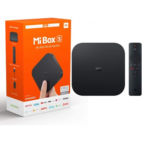 Mi 4K Ultra HD Android TV with Google Assistant Remote 4K WiFi Bluetooth Android TV BOX