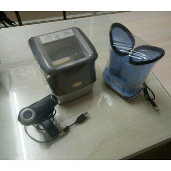 Morpho Aadhar Kit MFS 600 Biometrics + Morpho Iris Scanner Refurbished/Second Hand/Used/Old CSC UID Kit