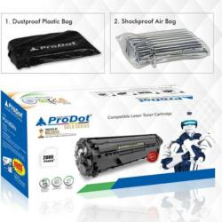 Prodot 12A Black Compatible Laser Printers Toner Cartridge