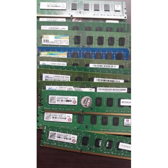 Pulled Out Refurbished DDR1, DDR2 DDR3 2GB 4GB Laptop/ Desktop Used Bulk Price Memory RAM
