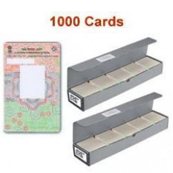 Pre Printed Voter Multi Color ID Card VID 100 PCs Pack PVC Cards