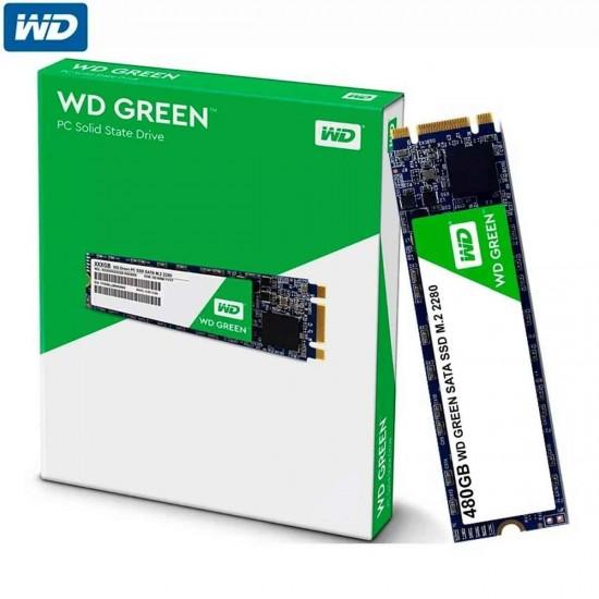 WD Green 480 GB Western Digital m.2 SSD, 550MB/s R, 3 Y Warranty, Solid State Drive M2 SSD