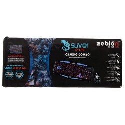 Zebion Sliver Air Gaming Keyboard and Mouse Combo