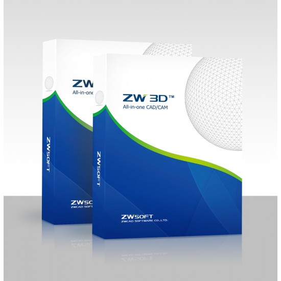 ZWCAD 2021 2D+3D Standard Lic ESD (Includes 1 year email/tel support) ESD License Software